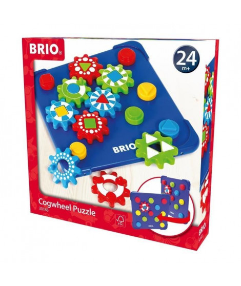 BRIO - 30188 - Puzzle A Engrenages