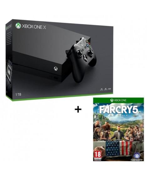 Xbox One X 1 To + Far Cry 5 Jeu Xbox One