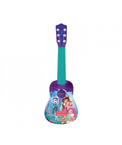 LEXIBOOK - ECHANTIMALS Guitare Acoustique Enfant - Hauteur 53 cm