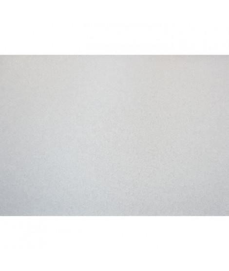Lot de 4 Sets de table - 43x30 cm - Pailleté blanc