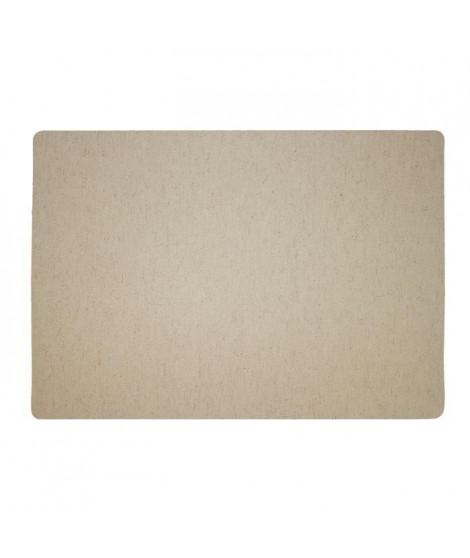 Lot de 4 Sets de table textile - 43x30 cm - Camel