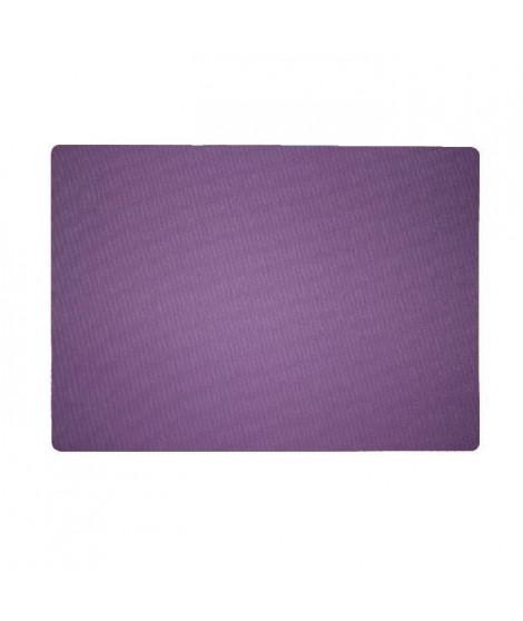 Lot de 4 Sets de table textile - 43x30 cm - Violet