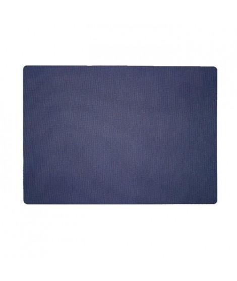 Lot de 4 Sets de table textile - 43x30 cm - Marine