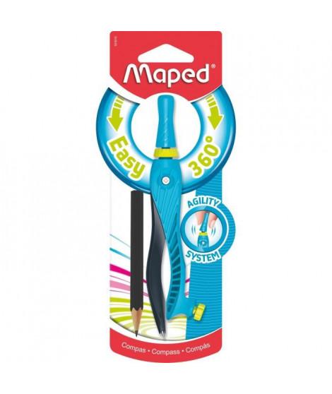 MAPED Compas Bague Kid'Z 360 Blister