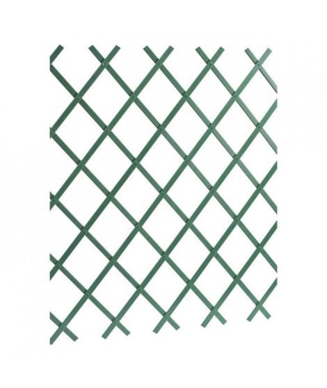 LAMS Treillage PVC lisse - 3 x 1 m - Vert