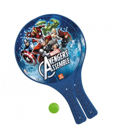 AVENGERS 2 Raquettes de plage et balle - Marvel