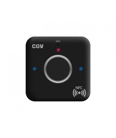 CGV 50903 Récepteur Bluetooth MyBTplayer 1.0 - Fonction kit main libre - NFC - 2 sorties jack 3,5mm - Noir