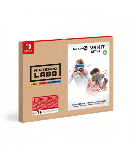 Nintendo Labo? - Kit VR Toy-Con 04 Ensemble Additionnel 1 ( Appareil photo + Éléphant )