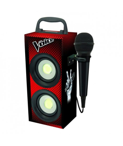 LEXIBOOK - THE VOICE - Mini Tour Bluetooth Karaoké avec Micro