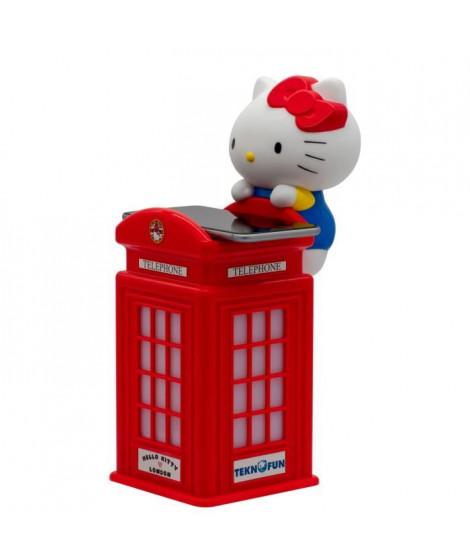 HELLO KITTY Chargeur sans-fil cabine téléphonique London - Rouge