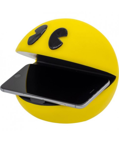 PACMAN Chargeur sans fil de téléphone portable Jaune