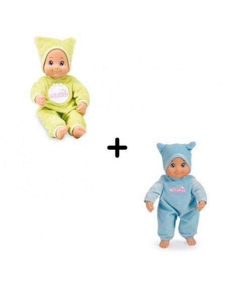Pack Minikiss - Poupon bleu + Poupon Dodo