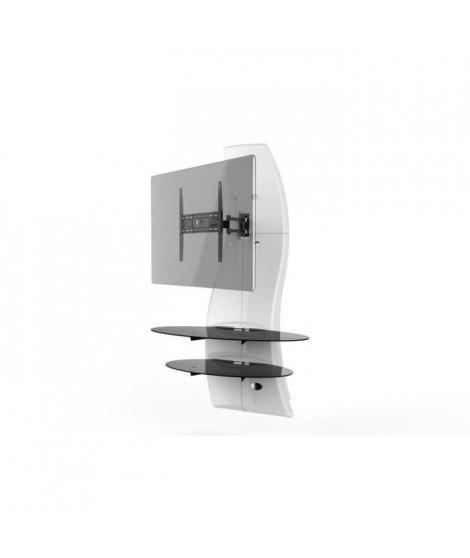 GHOST DESIGN 2000 ROTATION Meuble TV support Blanc