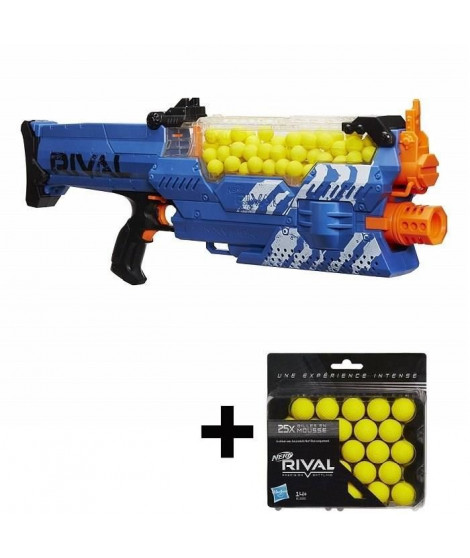 NERF RIVAL - Nemesis MXVII Bleu + 25 Recharges Offertes !