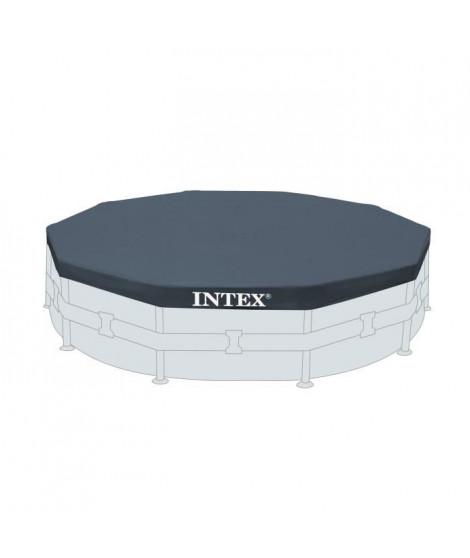 INTEX Bâche pour piscine ronde - 427 cm - Bleu