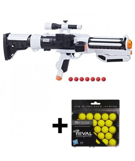 NERF RIVAL - Stormtrooper + 7 Billes + 25 Recharges Offertes !