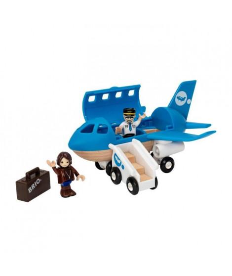 BRIO World  - 33306 - Avion De Voyageurs