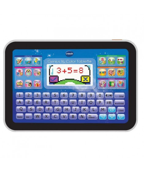 VTECH - Genius XL Color - Tablette Éducative Enfant - Noire