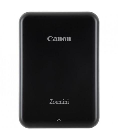 CANON Zoemini Imprimante photo de poche - 10 Films inclus - Photo : 5 x 7,6 cm - Noir