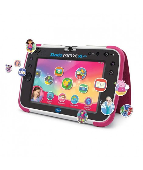 """VTECH - Console Storio Max XL 2.0 7"""" Rose - Tablette Éducative Enfant 7 Pouces"""