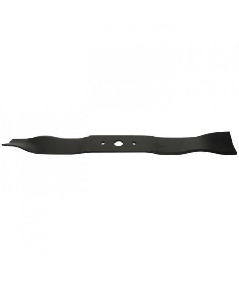 Lame mulching adaptable pour tondeuses Castelgarden - L : 490 mm - Alésage central : 18,5mm - Entraxe : 65 mm