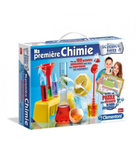 CLEMENTONI Science & Jeu - Ma premiere chimie - Jeu scientifique