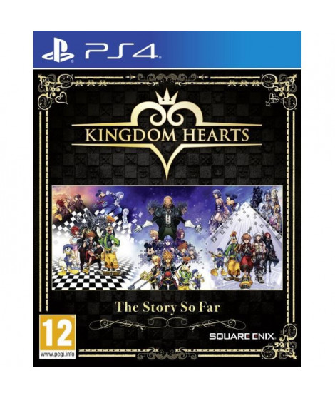 Kingdom Hearts The Story So Far Jeu PS4