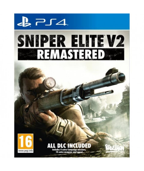 Sniper Elite 2 Remastered Jeu PS4