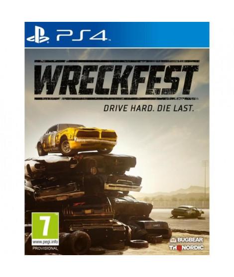 Wreckfest Jeu PS4