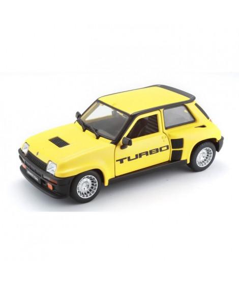 BBURAGO Voiture Renault R5 Turbo 1 1/24eme - Jaune