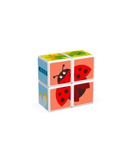 MAGICUBE - Insectes (4 cubes)