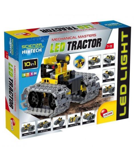 LISCIANI GIOCHI Jeux de construction Stem Technics 10 En 1 - Tracteurs a leds