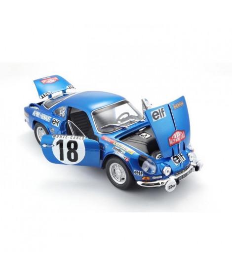 MAITO Voiture Alpine Renault A110 1/18eme - Décoration Monte Carlo - Bleu