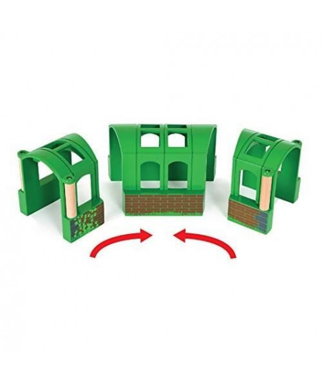 BRIO World  - 33709 - Tunnel Modulable - Jouet en bois