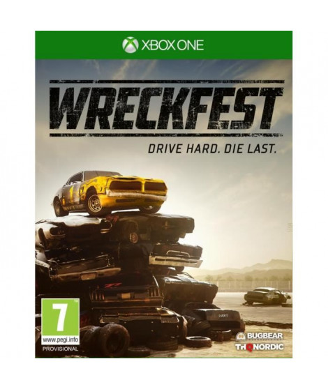 Wreckfest Jeu XBox One
