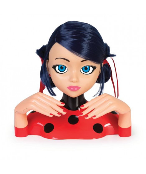 IMC TOYS Tete a coiffer de luxe Miraculous Ladybug
