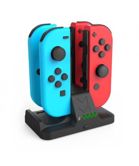 Station de recharge pour 4 Joy-Cons pour Nintendo Switch