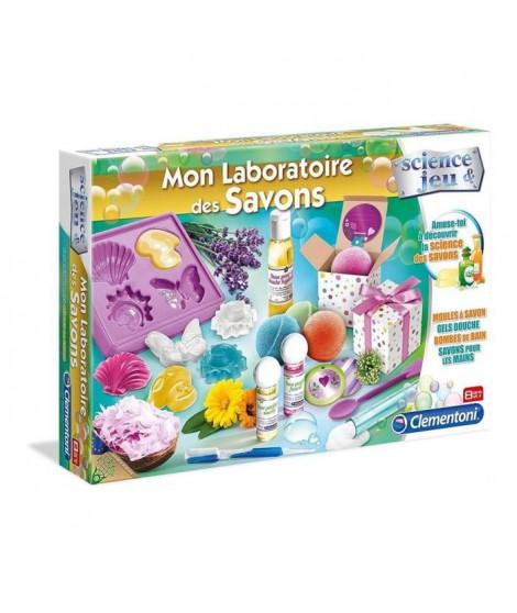 CLEMENTONI Science & Jeu - Mon Laboratoire des Savons - Jeu scientifique
