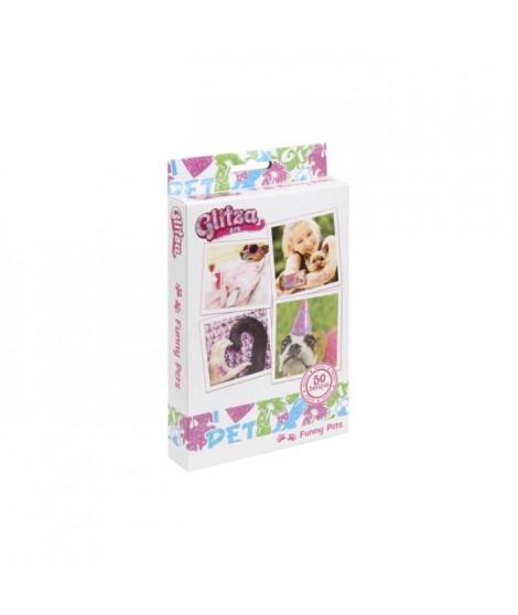 GLITZA ART Tatouage Funny Pets - 50 Designs
