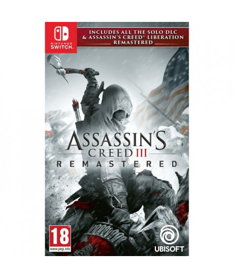 Assassin's Creed 3 + Assassin's Creed Liberation Remaster Jeux Switch