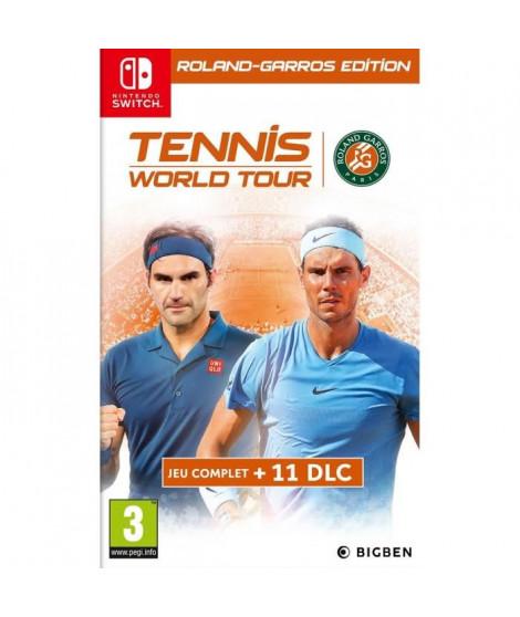Tennis World Tour Roland Garros Jeu Switch