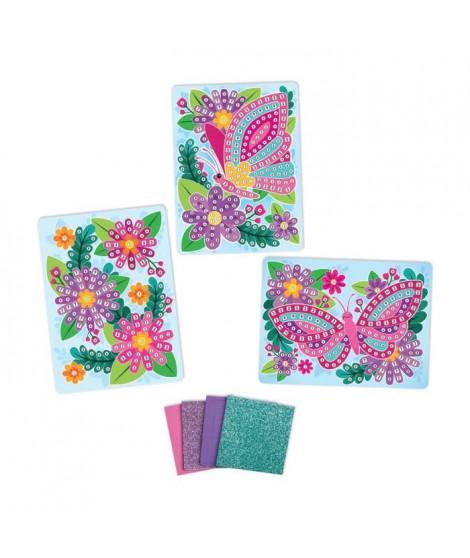 ORB Mosaiques Autocollantes Fleur