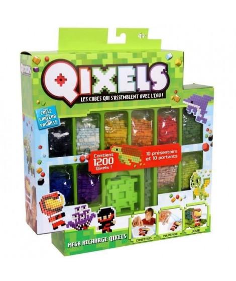 QIXELS - Mega recharges (1200 recharges - 10 couleurs)