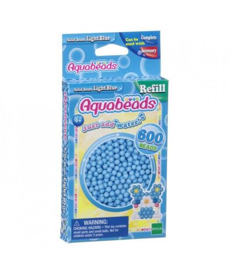 AQUABEADS Perles Classiques Bleu Clair