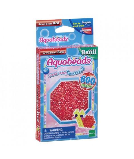 AQUABEADS Perles Multi-Facettes Rouges