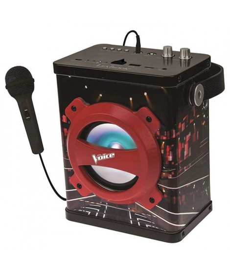 LEXIBOOK - Enceinte Bluetooth Karaoke avec Micro The Voice