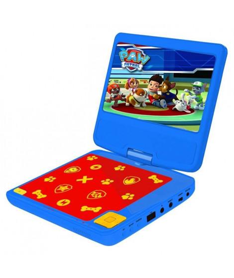 LEXIBOOK - PAT PATROUILLE - Lecteur DVD Portable pour Enfant avec port USB