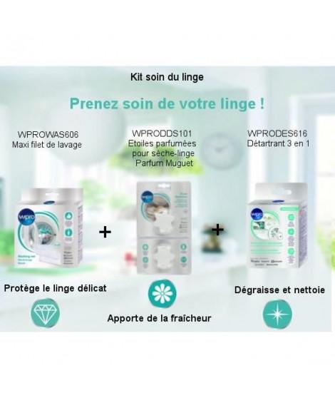Pack Kit Soin du linge - Maxi filet de lavage + Détartrant 3 en 1 + Etoiles parfumées