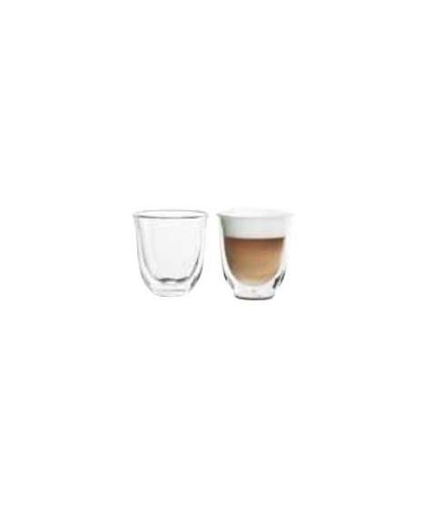 DELONGHI Lot de 2 tasses Capuccino - 19 cl