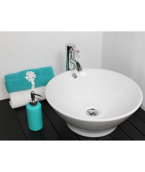 Vasque en céramique Amalfi blanc